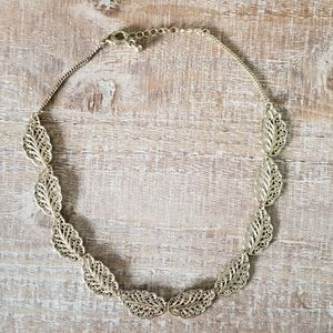 Greek Laurel Inspired Necklace